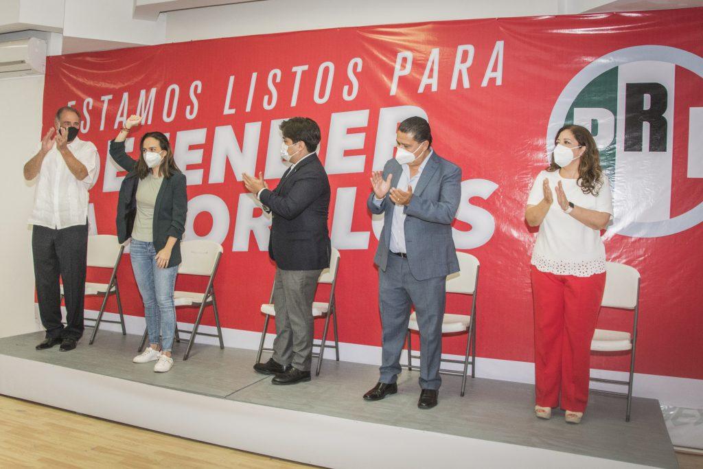 Lourdes Riva Palacio Lavín, fue la elegida para buscar la diputación local por el Segundo Distrito de Morelos por el Partido Revolucionario Institucional (PRI).