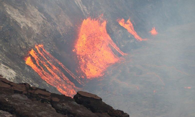 El VOLCÁN KILAUEA, ubicado en Hawaii, entra en erupción