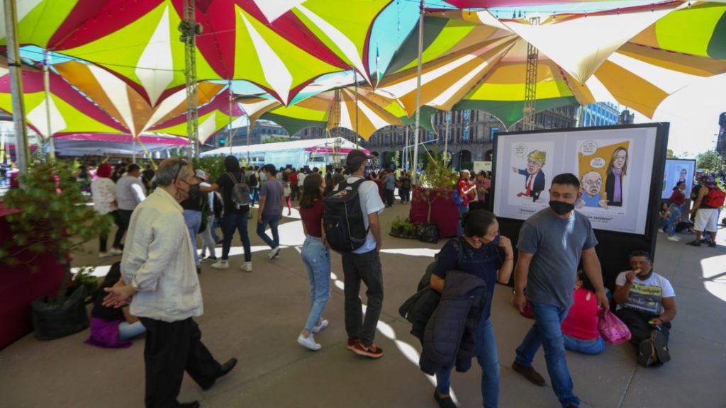 La Feria Internacional del Libro en el Zócalo de la CDMX regresa con actividades híbridas